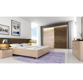 Sypialnia CARMAN -  łóżko 167 szer.