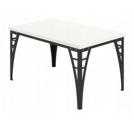 Stół do jadalni - salonu - Loftowy - 90 / 140 cm