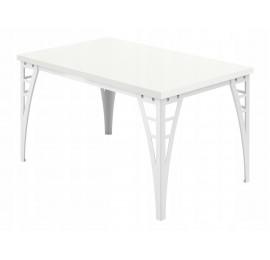 Stół do jadalni - salonu - Loftowy - 90 / 120 cm