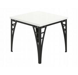 Stół do jadalni - salonu - Loftowy - 90 / 90 cm