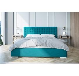 Łóżko tapicerowane z pojemnikiem AVANTI